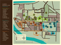 Tour of the Times Campus Walking Tour Map